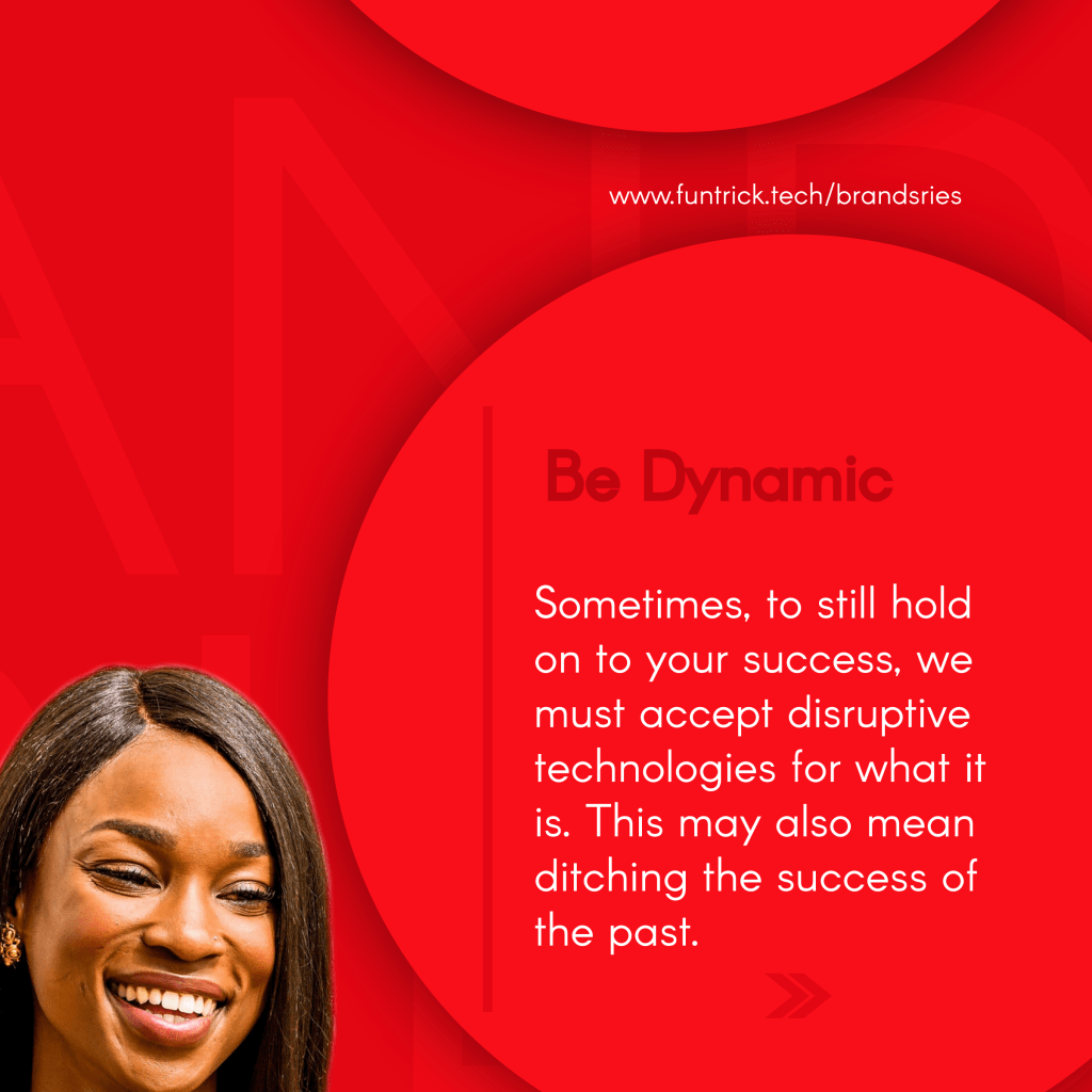 In Business, be dynamic