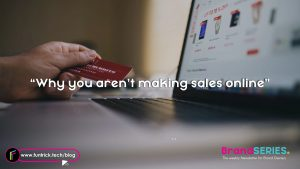 You don't make sells online? This is why!